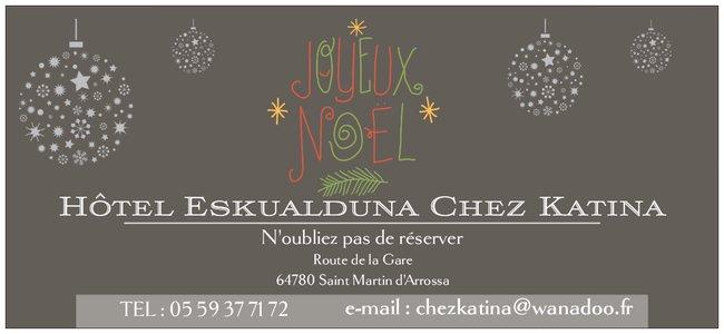 Hotel Christmas voucher